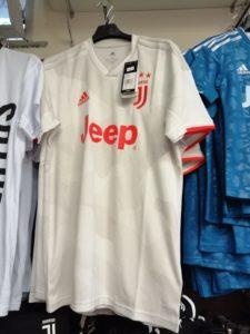 seconda maglia Juventus 19/20